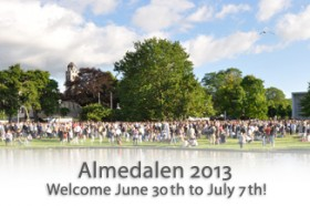 Almedalen, welcome_2013