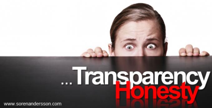 Transparency-Honesty