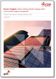 CDP-Global 500 Climate Change Report 2013