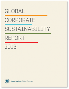 UN Global_Corporate_Sustainability_Report2013