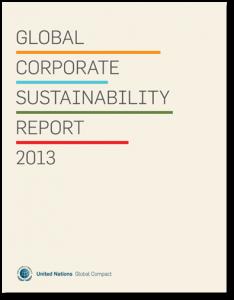 UN Global_Corporate_Sustainability_Report2013