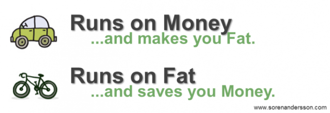 Runs on money or fat
