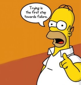 homer-trying-is-the-first-step-toward-failure