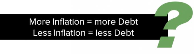 Inflation More Debt
