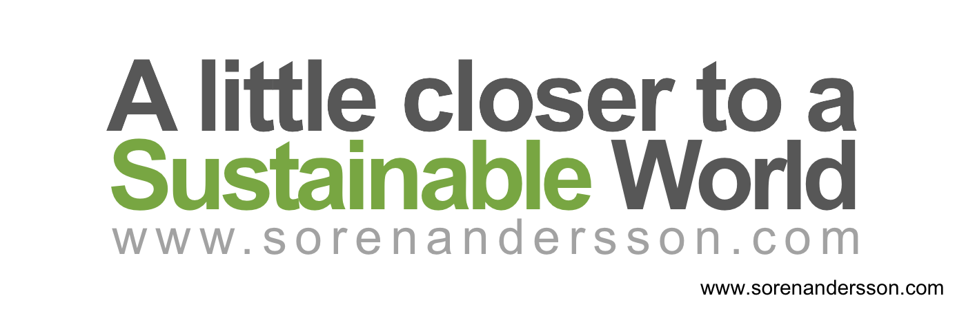 A Little Closer to a Sustainable World